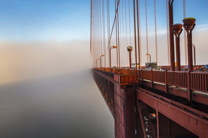 Fotografía de Gonzalo Azumendi (Golden Gate, San Francisco)
